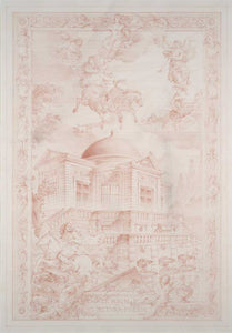 Tapestry design for the Pavillon de l'Aurore – Sceaux