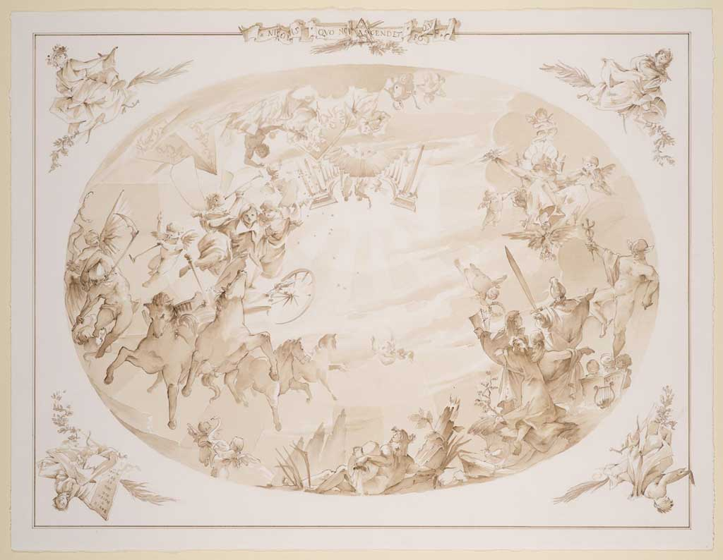 Ceiling Fresco for the Château de Vaux-le-Vicomte – Seine-et-Marne