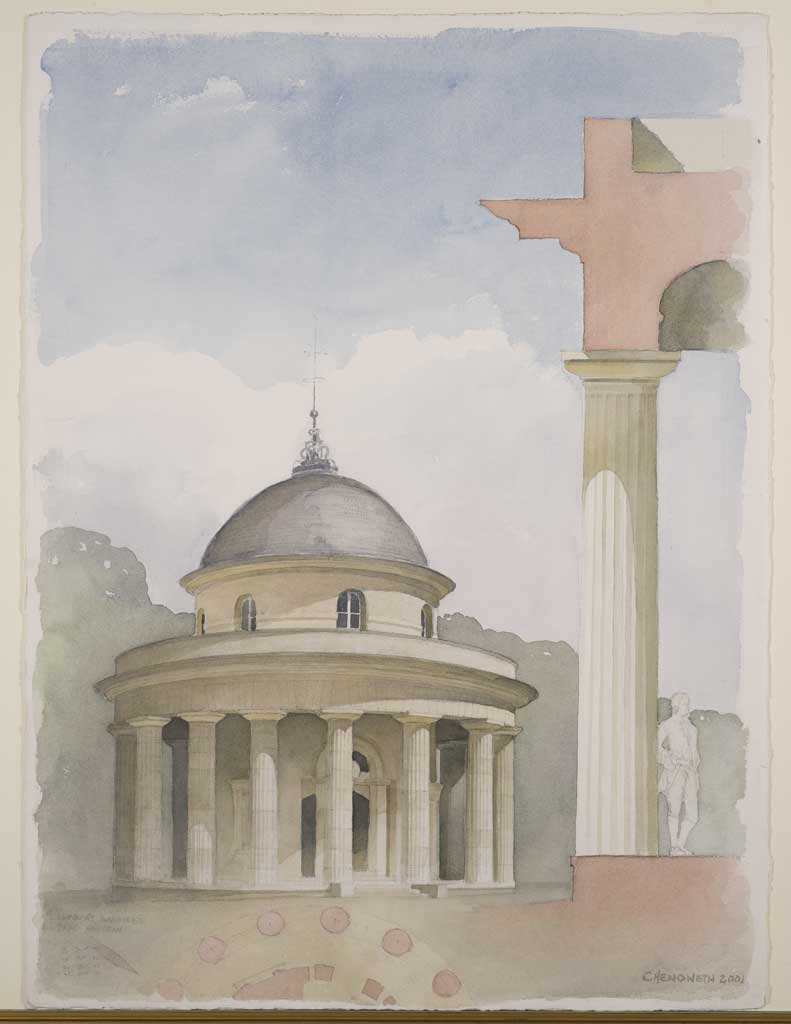 Rotunda at Parc Monceau – Paris
