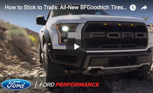How F-150 Raptor Sticks to Trails: All-New BFGoodrich Tires Are More Capable, Comfortable Than Ever