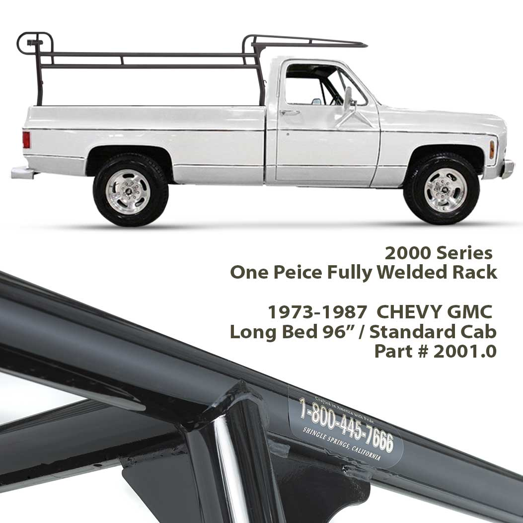 2000 SERIES <b> FORKLIFT RACK </b> ID# 2001.0