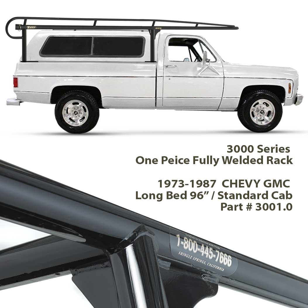 3000 SERIES <b>CAMPER SHELL RACK</b> ID# 3001.0