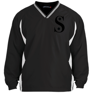 Symbol-Stand for Something Sport-Tek Tipped V-Neck Windshirt
