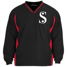 Load image into Gallery viewer, Symbol-Stand for Something Sport-Tek Tipped V-Neck Windshirt