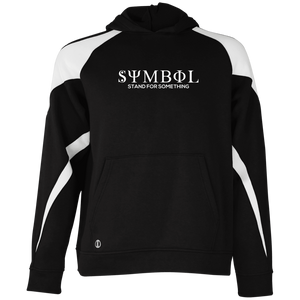 Symbol-Stand for Something Youth Colorblock Hoodie