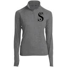 Load image into Gallery viewer, LST850 Sport-Tek Women's 1/2 Zip Performance Pullover