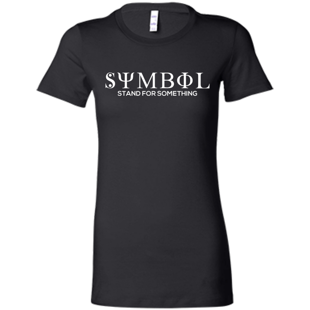 Symbol-Stand for Something  Bella + Canvas Ladies' Favorite T-Shirt
