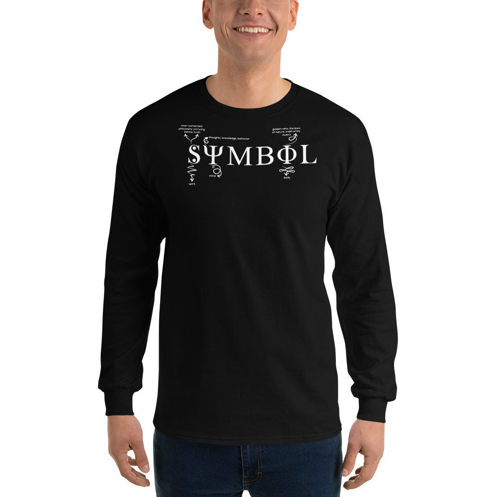 Symbol Definition Long Sleeve T-Shirt