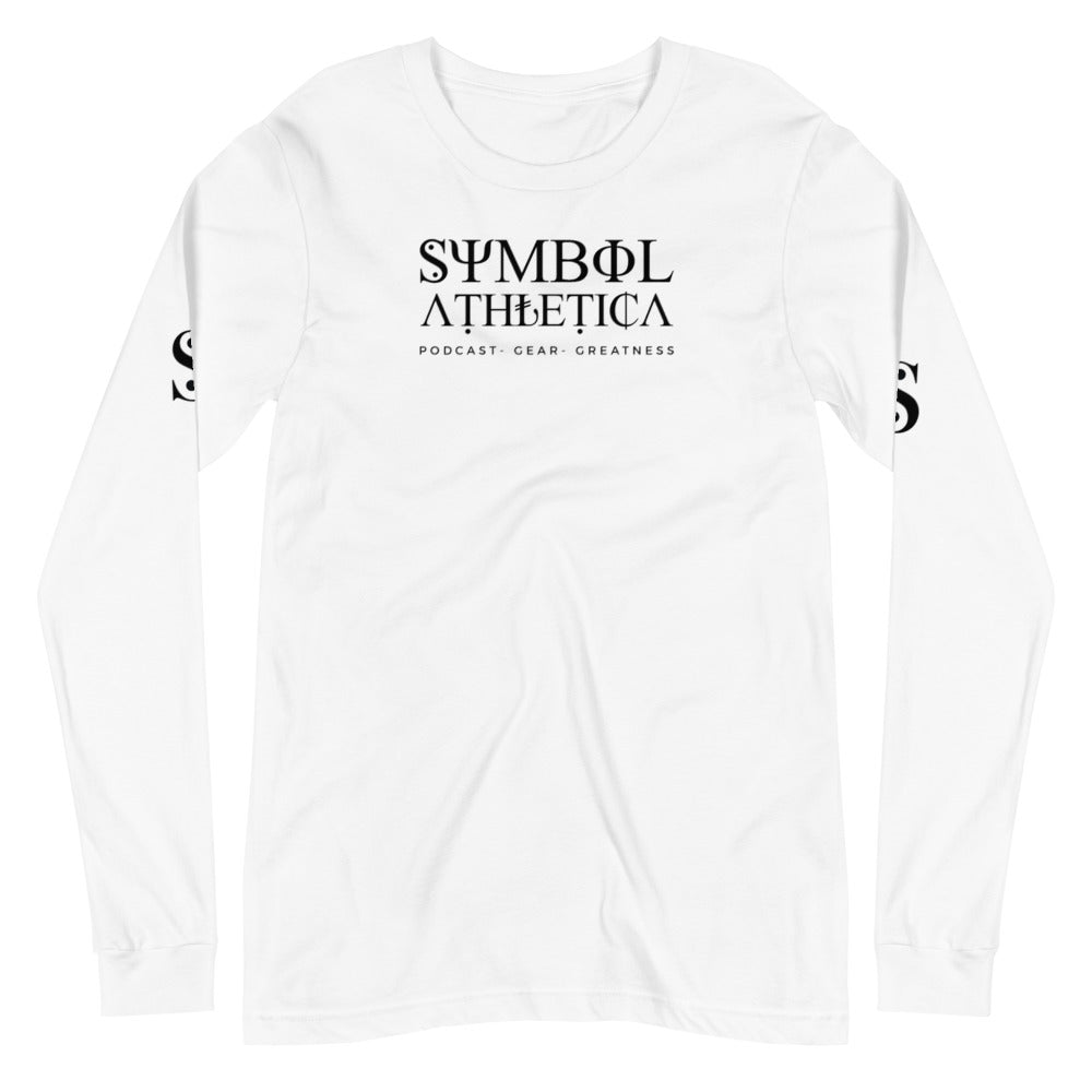 Symbol Athletica - Podcast, Gear, Greatness long sleeve tee