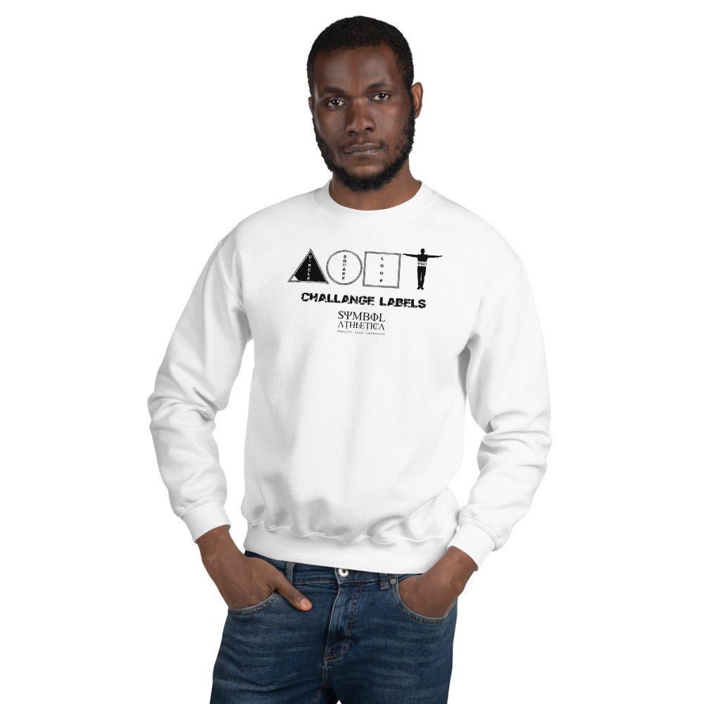 challenge Labels  Sweatshirt -white