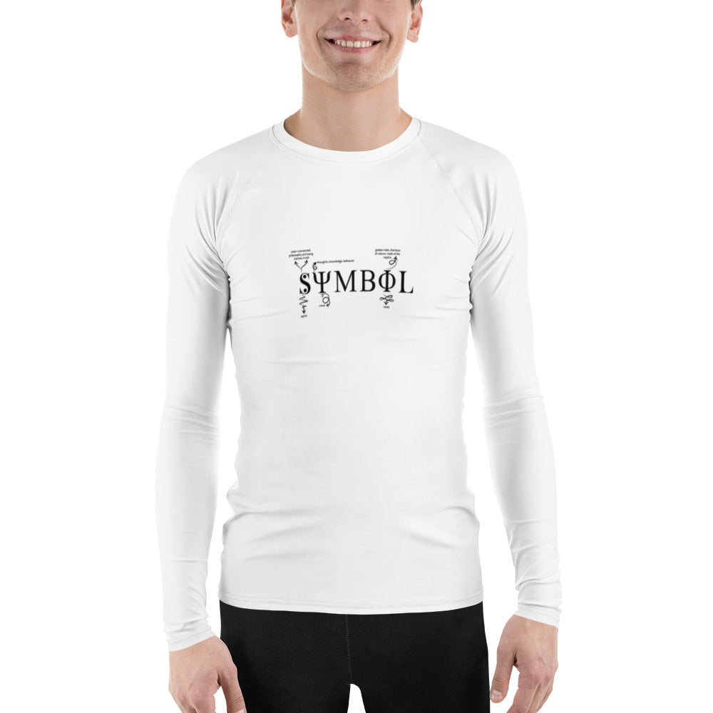 Symbol Definition Men's Rash Guard