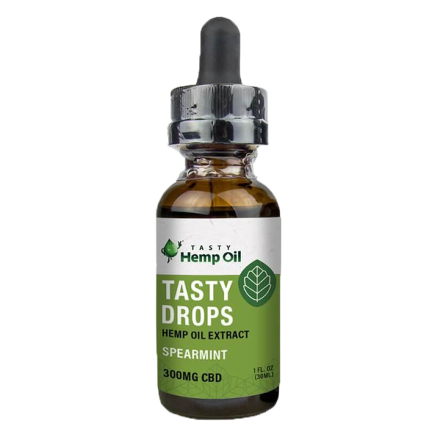 300mg Spearmint Flavored CBD Oil