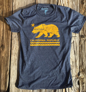 Ventura County California Bear Tshirt
