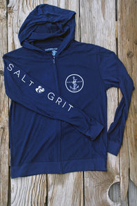 SALT & GRIT Lightweight Full Zip