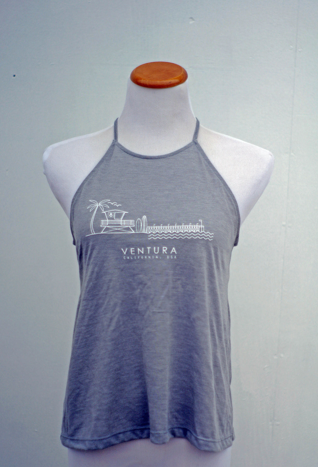 Ventura Beach Flowy Tank Top