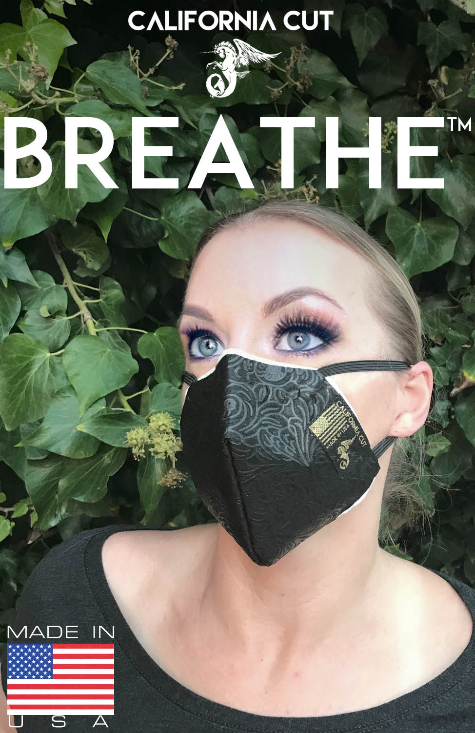 """Breathe™"" Meltblown Polypropylene Civilian Facemask  (PACK OF 2 MASKS)"