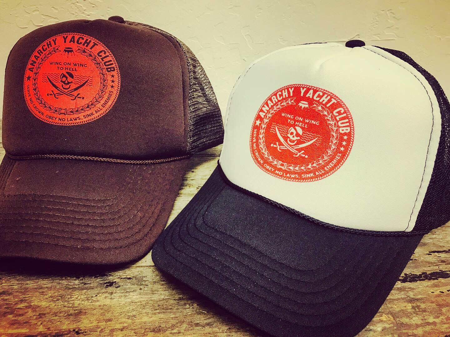 Anarchy Yacht Club trucker hat