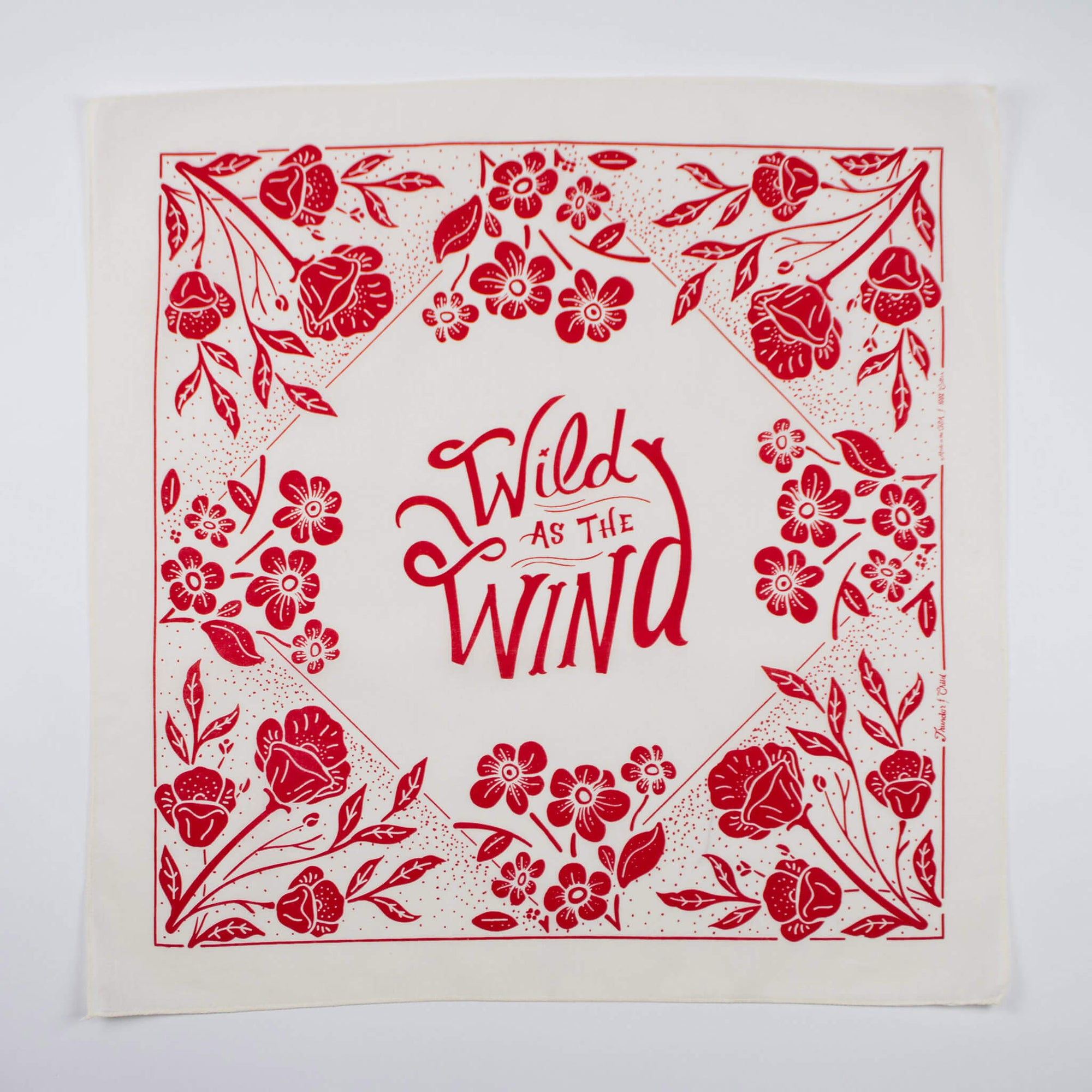 WILD AS THE WIND - BANDANNA