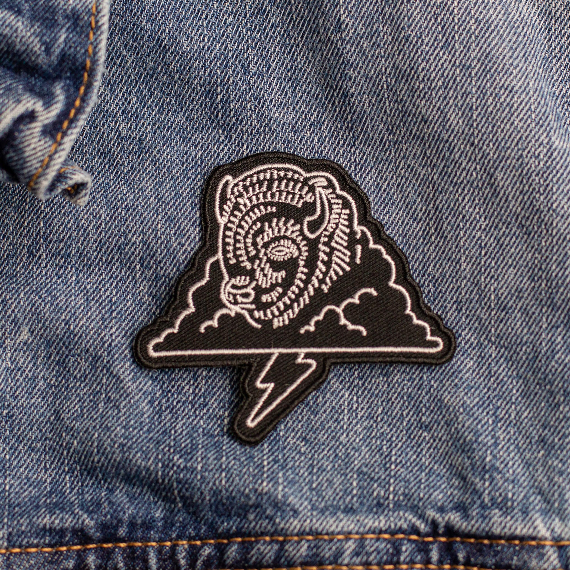 Bison Thunder - Embroidered Patch