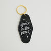 SPACE IS THE PLACE - RETRO MOTEL KEYCHAIN