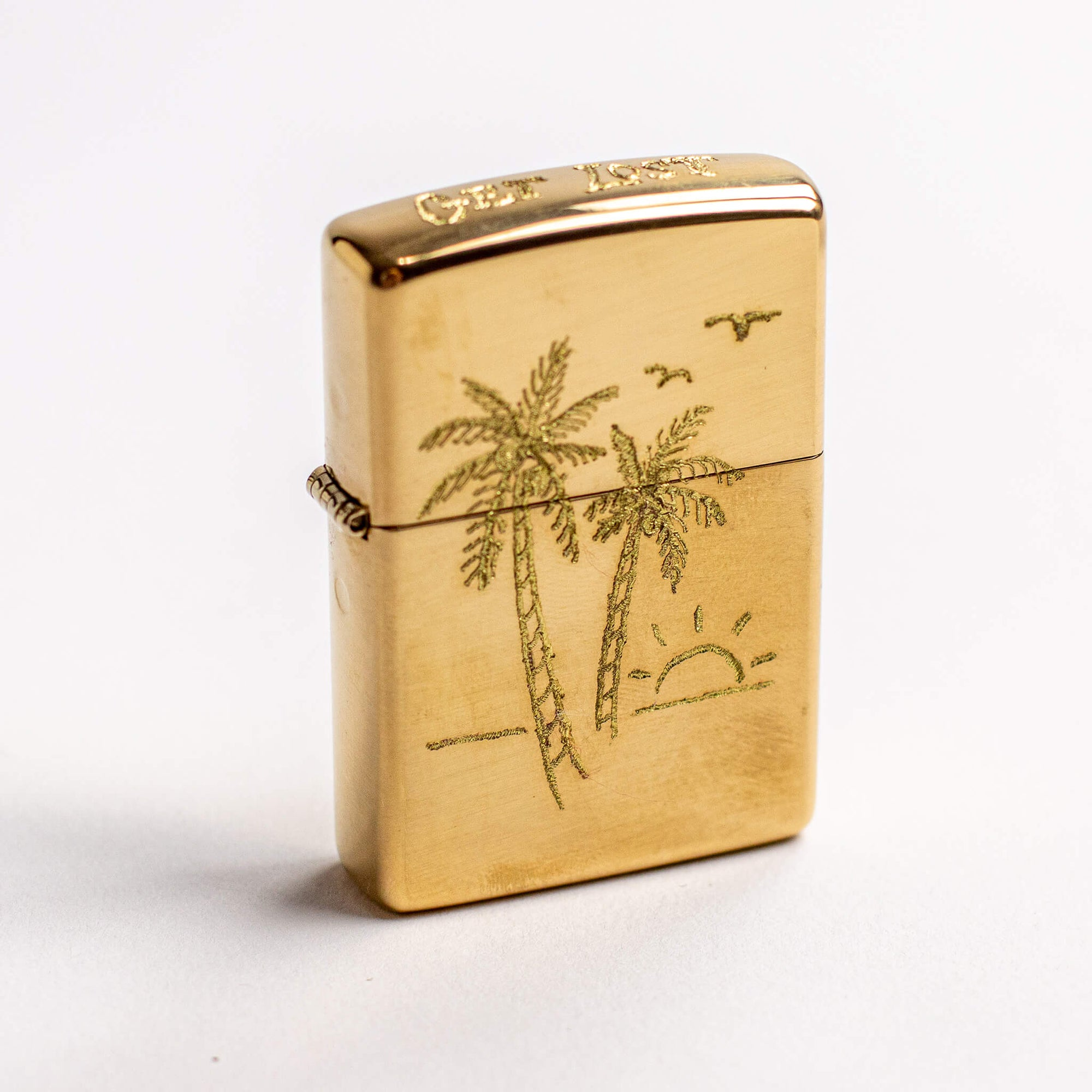 Get Lost Engraved Zippo