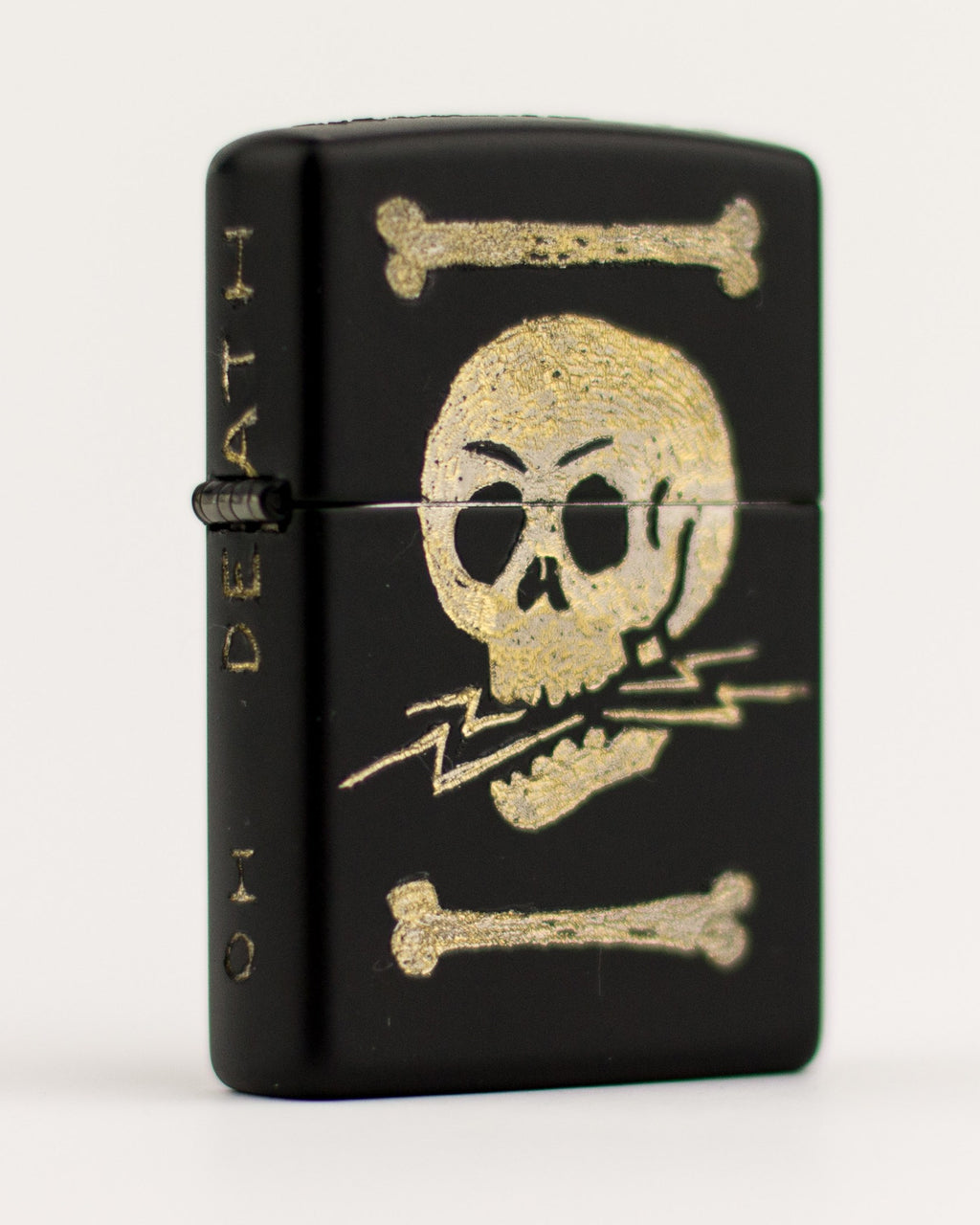 DEATH WHERE IS THY STONG - Engraved Zippo