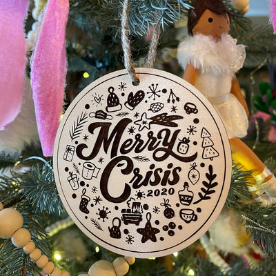 Merry Crisis 2020 Ornament