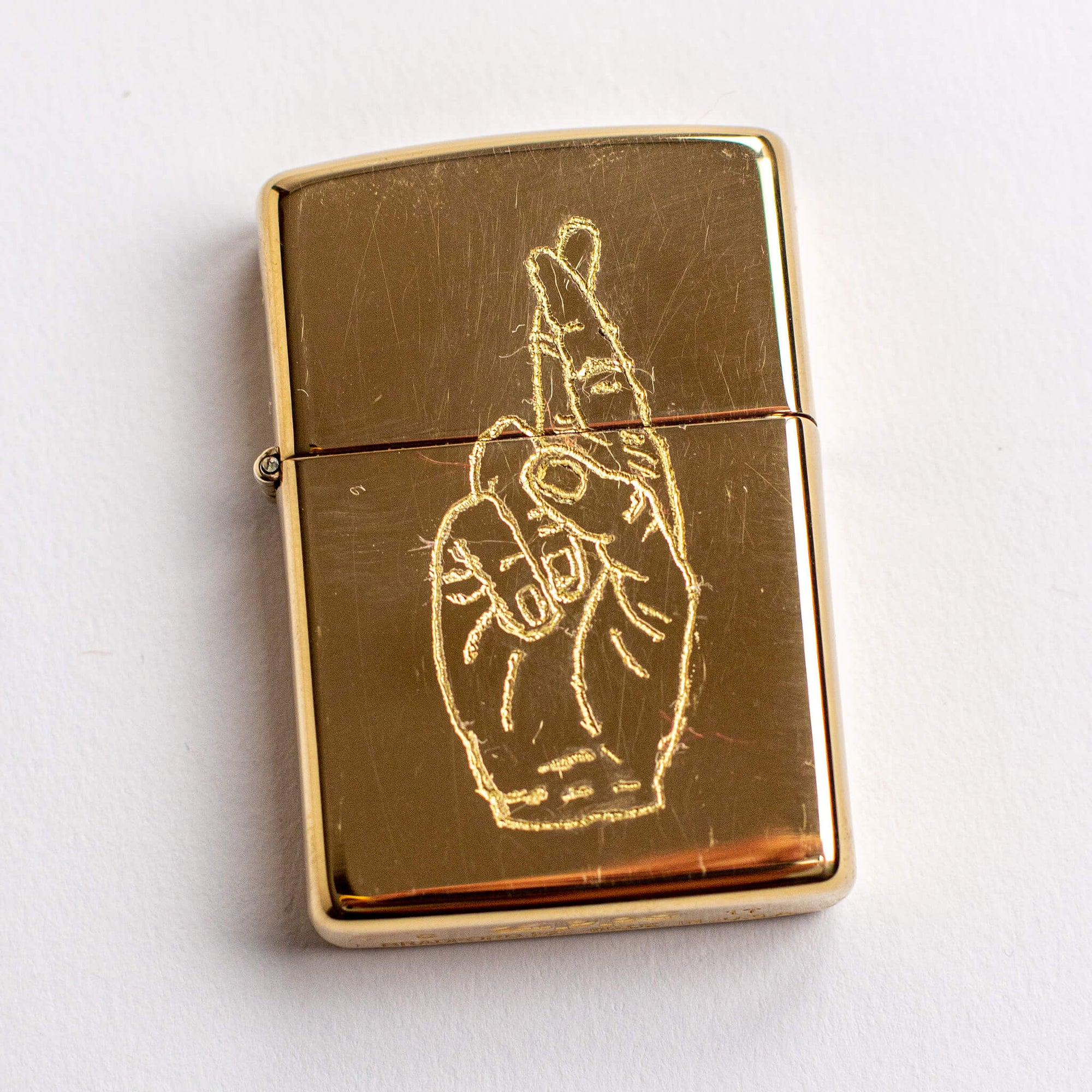 Scouts Honor - Brass Engraved Zippo