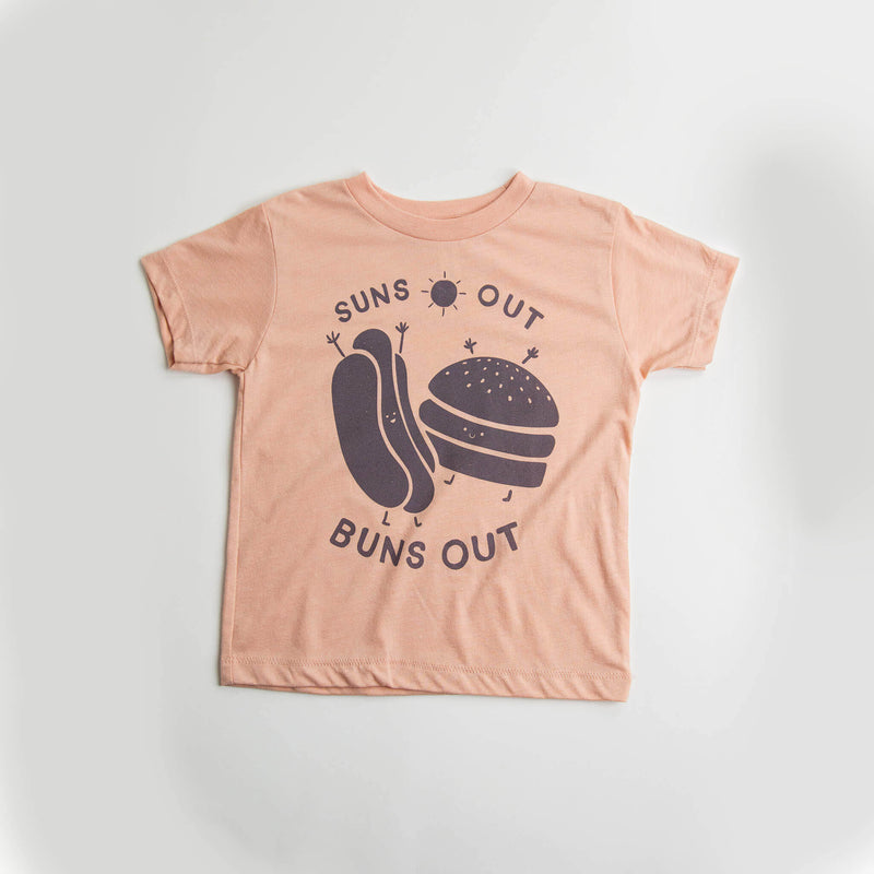 Suns Out Buns Out Toddler Tee