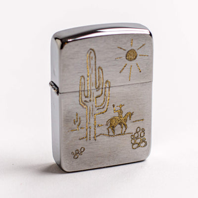 Western Engraved Zippo