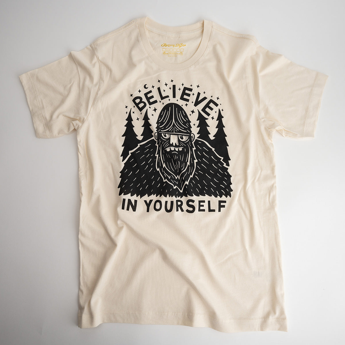 (ADULTS) BELIEVE IN YOURSELF - SASQUATCH TEE