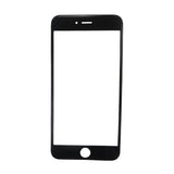 10 Pcs iPhone 8 Black front Glass+OCA+Frame Cold Press Pre-installed
