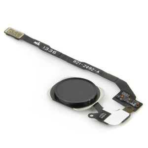 iPhone 5S Home Button Flex Cable with Fingerprint Sensor - Black