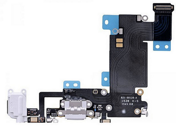 iPhone 6s Plus OEM Charging Port Flex Cable - White