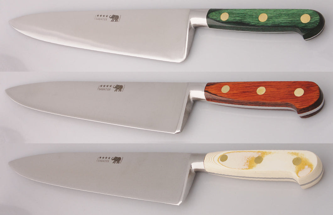 Thiers-Issard Four-Star Elephant Sabatier Knives 12 in chef knife