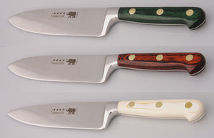 Thiers-Issard Four-Star Elephant Sabatier Knives 6 in chef knife wide (Bon Vivant)