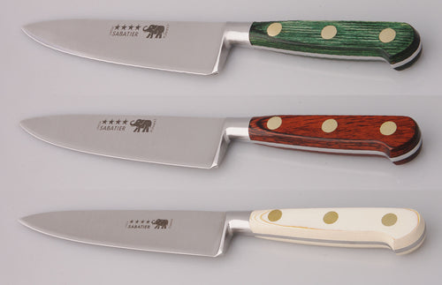 Thiers-Issard Four-Star Elephant Sabatier Knives 6 in cooks knife
