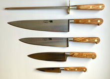 Load image into Gallery viewer, 5 pc Chef Knife Set - Stainless Steel