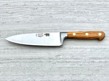 "Load image into Gallery viewer, 6 in (15 cm) ""Bon Vivant"" Wide Cook's Knife"