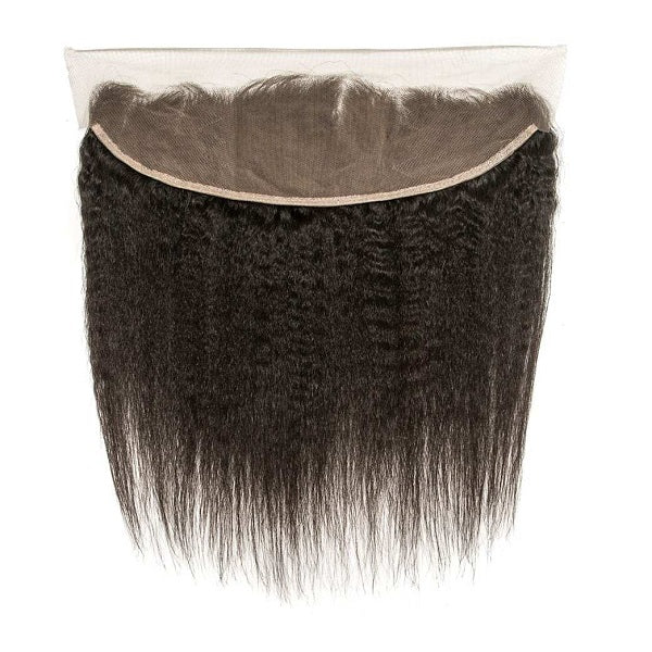 Brazilian Kinky Straight Frontal (13x4)