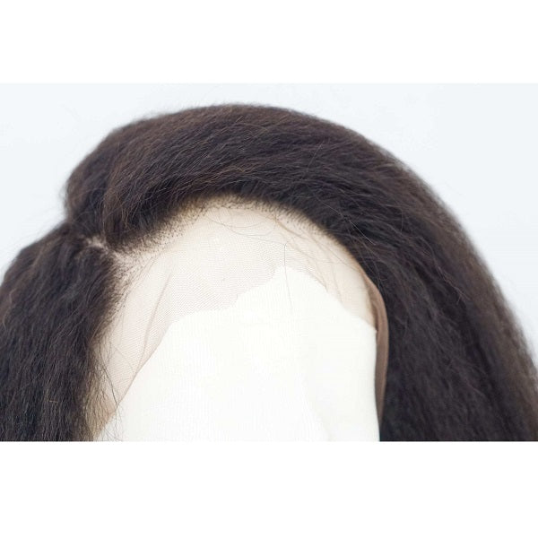 Full Lace Wig Brazilian Kinky Straight