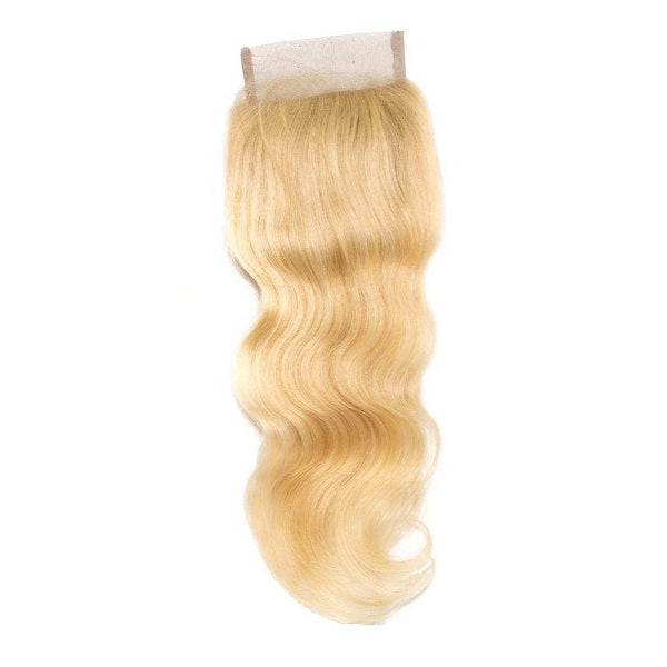 Russian Blonde Wavy Closure (4x4)