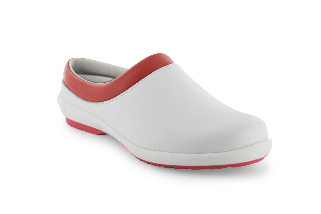 Airloft Pro Clog - White/Spiced Coral/White
