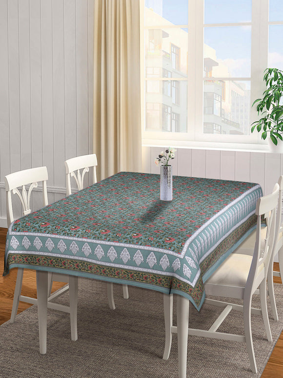 Dining Table Cover 100 x 60 inches - Green