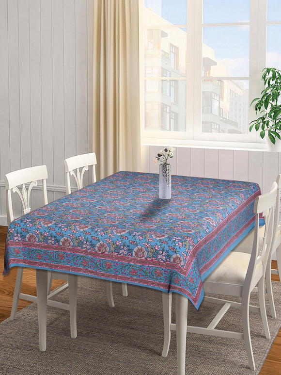 Dining Table Cover 100 x 60 inches - Blue