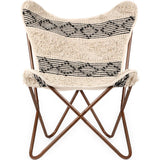 Butterfly Chair-Beige Rug