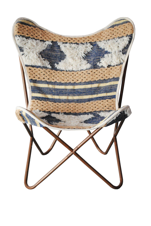 Butterfly Chair-Blue Rug-Furniture-Coronation-Saryuhomes