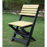 Eco Azure Portable Folding Chair