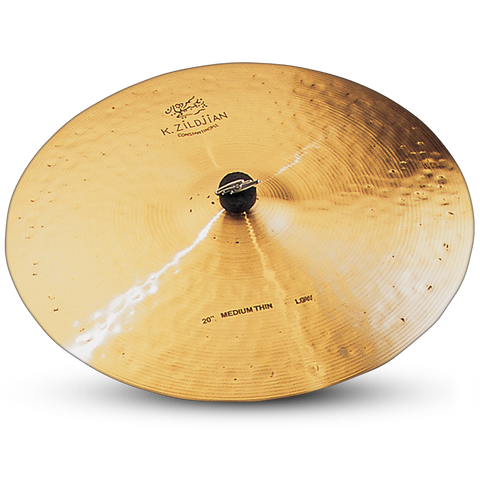 "Zildjian 20"" K Const Ride Med Thin Low"
