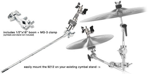 DW Boom Closed Hi Hat Arm With Clamp
